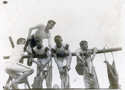Obstacle course, Waitaki Boys' High School