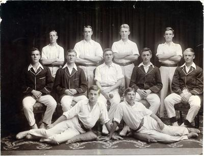 Waitaki Boys' High School cricket team; P0109.051