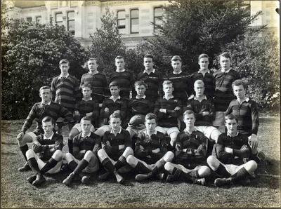 Waitaki Boys' High School Second Fifteen rugby team