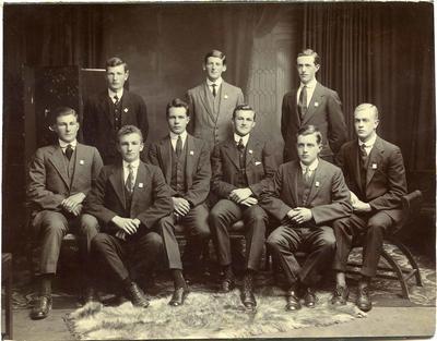Waitaki Boys' High School students