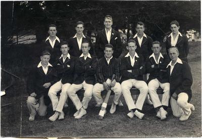 Waitaki Boys 'High School First Eleven cricket team