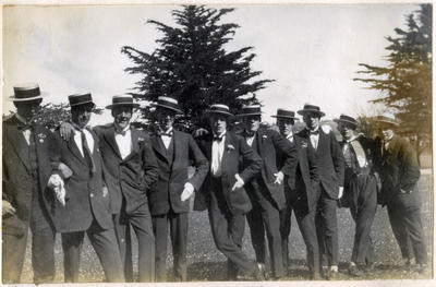 Students of Waitaki Boys' High School