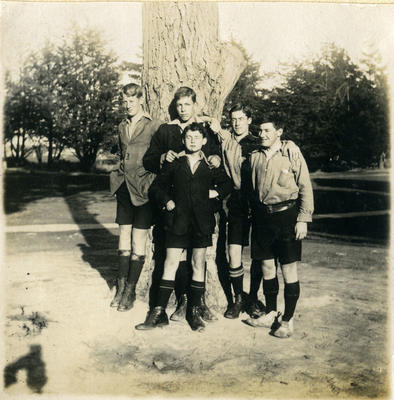 Wright, Hunt, Tonkin, Matherson, Sutherland. Waitaki Boys' High School