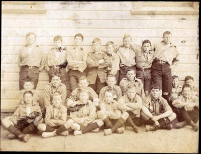 Waitaki Boys' High School students; P0109.082.23