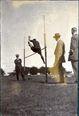 High jump, Waitaki Boys' High School athletics; P0109.082.34