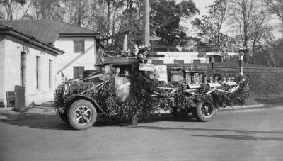Coronation Float. Truck