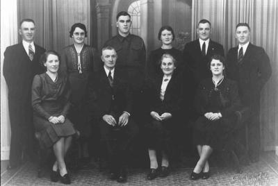 Park family members, 1941