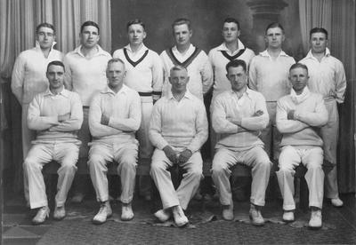 The Oamaru Cricket Club Senior Eleven