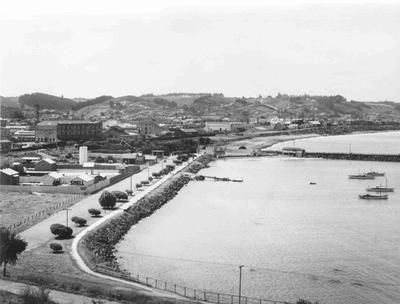 Marine Parade, Oamaru Harbour