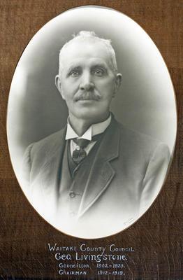 Livingstone, George.  Waitaki County Council