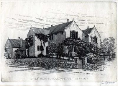 Girls' High School Waitaki 1887 - 1937