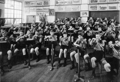 String orchestra at Waitaki boys High School