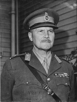 Portrait of Lt. General Freyburg