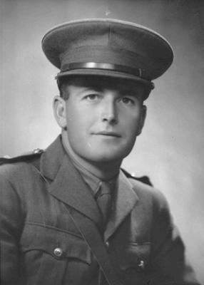 Portrait of Lieutenant E.Denis Blundell