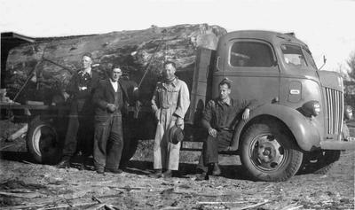 Eric Blomfield's Sawmill