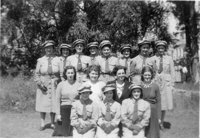 Women's War Service Auxiliary Cycling Corps