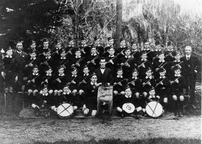 South School Fife and Drum band, 1917.