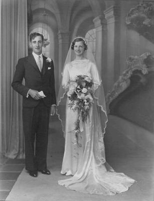 Jardine, George Dickson & Kathleen nee Matheson wedding