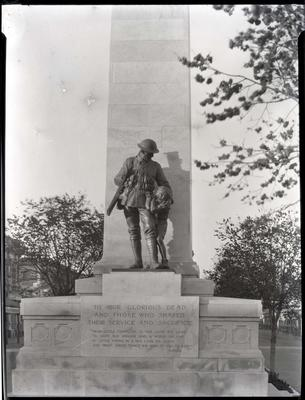 World War One memorial, Oamaru.