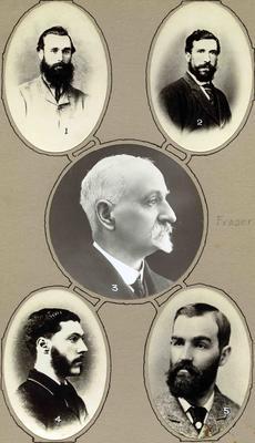 Early headmasters at Weston School