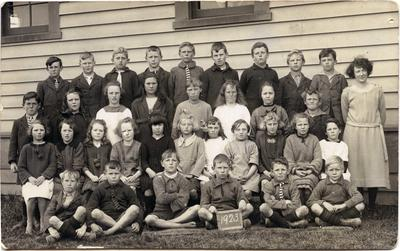 Pupils at Weston School.