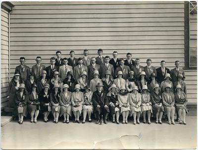 Ex pupils from the 5th decade of Weston School.