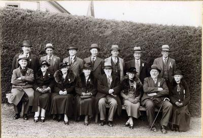 A group of ex-pupils of Weston School.