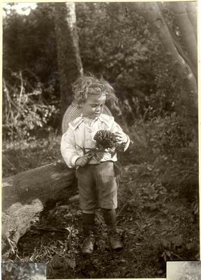 Boy in a garden; 2014/45.02.116