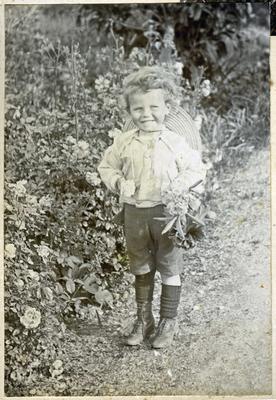 Boy in a garden; 2014/45.02.117