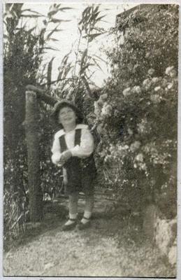 Child in a garden; 2014/45.02.163