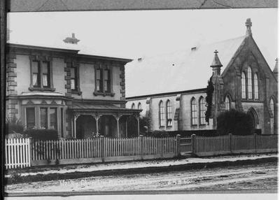 Wesleyan Church and Manse Oamaru