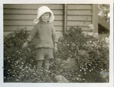 Child in a garden; 2014/45.02.174