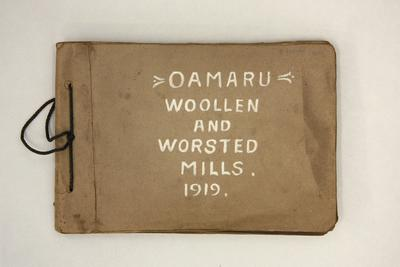 Oamaru Woollen and Worsted Mills; 2018/085.01