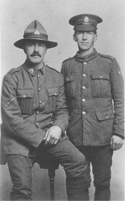 Robert and Charlie James