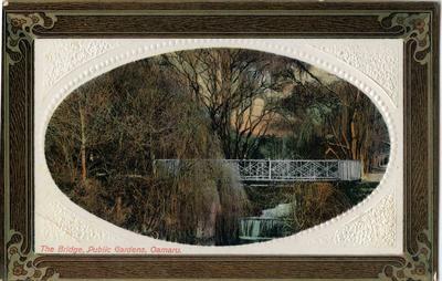 The Bridge, Public Gardens, Oamaru