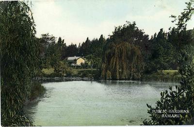 Public Gardens Oamaru