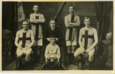 Rowing Team Photo Unidentified