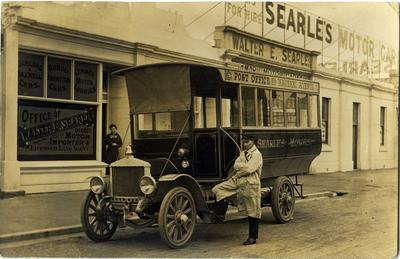Walter E Searle's Motor Garage