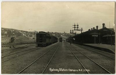 Railway Station Oamaru NZ
