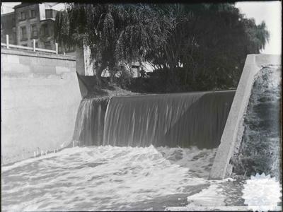 Waterfall near Crown Mill.