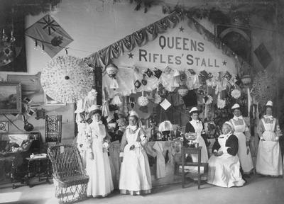 Queen's Rifles Stall, nurses