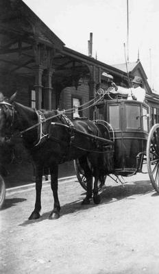 Hanson Cab at Oamaru Railway Station