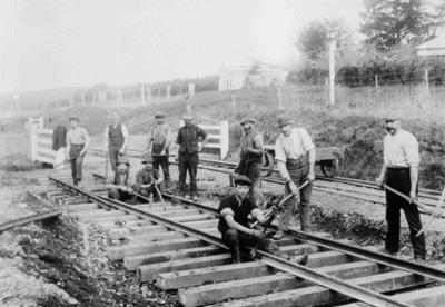 Windsor Railway Line Construction