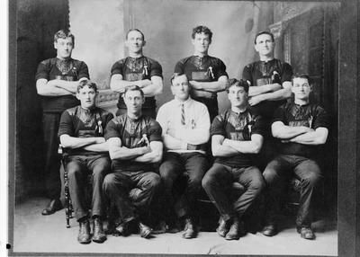 Enfield Tug of War team