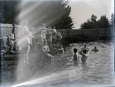 Waitaki Boys High School swimming pool