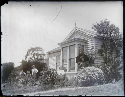 Women and house unidentified