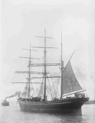 Ship unidentified Oamaru Harbour
