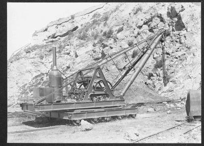 Steam Crane, Oamaru Harbour