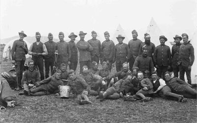 Oamaru Mounted Rifles group
