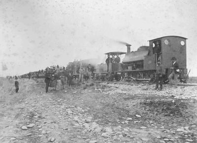 Opening of the Oamaru to Waitaki railway